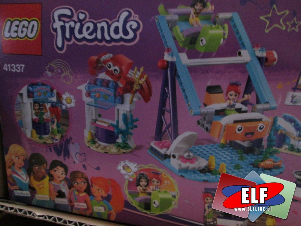 Lego Friends, 41337 Podwodna Frajda, 41372 Występ gimnastyczny Stephanie, klocki