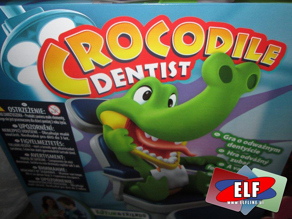 Gra, Crocodile Dentist, Krokodyl dentysta, gry