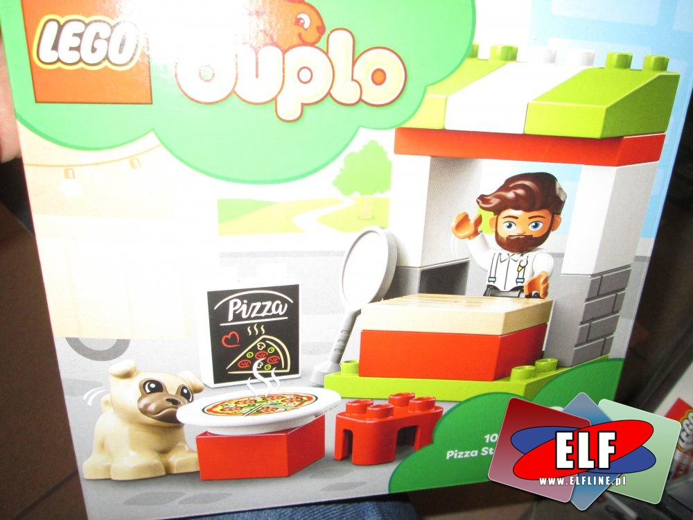 Lego Duplo, 10927 Stoisko z pizzą, klocki
