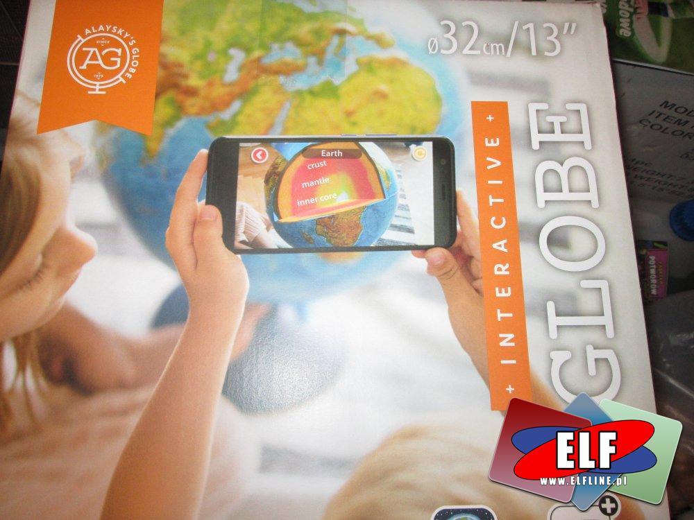 Interactifi Globe, Globus interaktywny z aplikacją, różne globusy interaktywne