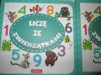 Książeczka edukacyjna, odgłosy zwierząt na łące, liczę ze zwierzątkami, zwierzaczkowy alfabet, książeczki edukacyjne dla dzieci