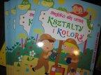 Książeczki edukacyjne, szybko się uczę, książeczka edukacyjna dla dzieci, Szlaczki i pierwsze literki, liczenie, kształty i kolory, przeciwieństwa i inne