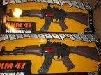 AKM 47, karabin, karabiny, zabawka, zabawki