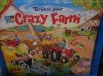 Crazy Farm, zestaw kreatywny, edukacyjny, zestawy kreatywne, edukacyjne, farma