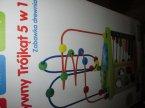 Kreatywny trójkąt 5 w 1, zabawka drewniana, edukacyjna, zabawki edukacyjne drewniane