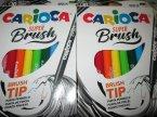 Carioca Super Brush, Marker z końcówką pędzelkową, mazaki, np. do kaligrafii itp.