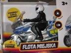 Zabawka Motocykl, Flota Miejska, Policja, Światło i Dźwięk