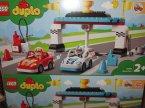 Lego Duplo, 10947 Samochody wyścigowe, klocki Lego Duplo, 10947 Samochody wyścigowe, klocki