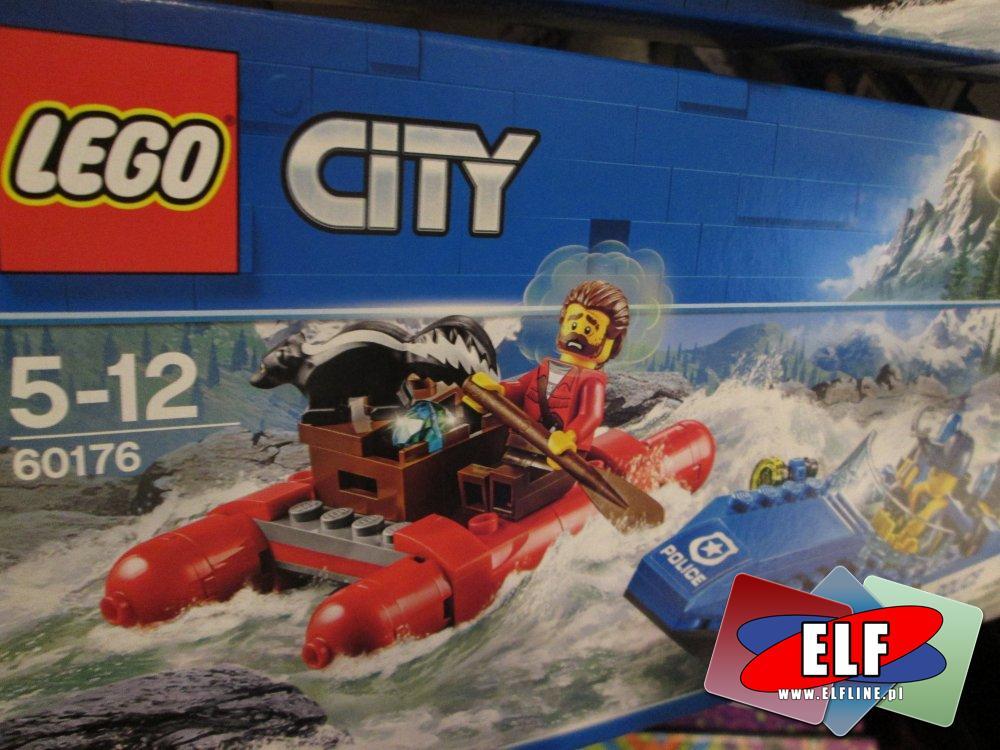 Lego City, 60176 Ucieczka rzeką, klocki