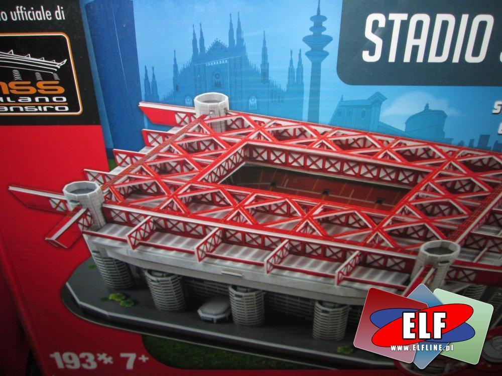 Puzzle 3D, Stadion, Model, Zabawka, Zabawki, Stadiony piłkarskie