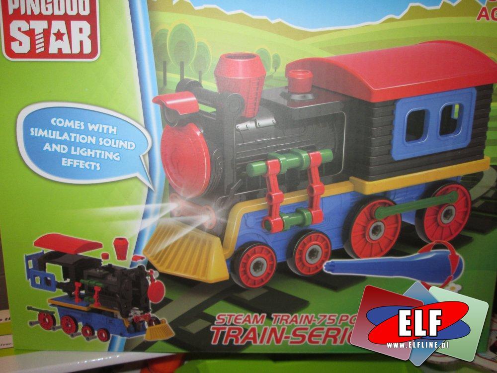 Steam Train, Pociąg, Ciuchcia parowa