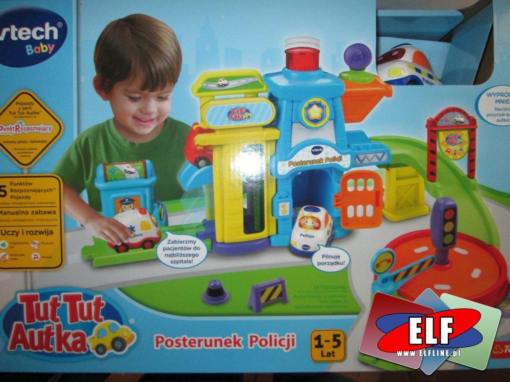 Tut Tut Autka, Posterunek policji, zabawka, zabawki, samochód, samochody