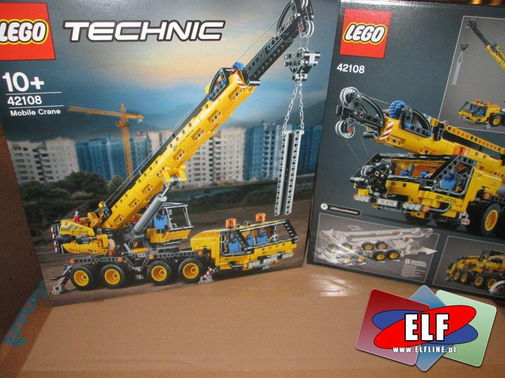 Lego Technic, 42108 Żuraw samochodowy, klocki