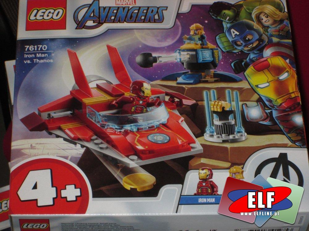 Lego Avengers 4+, 76170 Iron Man kontra Thanos, klocki