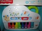 Fisher-Price, Pianinko, zabawka dźwiękowa, edukacyjna