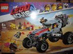 Lego Movie, 70823 Trójkołowiec Emmeta, 70829 Łazik Emmeta I Lucy, klocki