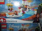 Lego Frozen, Disney, 41165, 41164, 41166, 41169, 41168, klocki Lego Frozen, Disney, 41165 Spływ kajakowy Anny, 41164 Zaczarowany domek na drzewie, 41166 Wyprawa Elsy, 41169 Olaf,...