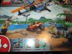 Lego Jurassic World, 75942 Welociraptor: na ratunek dwupłatowcem, klocki
