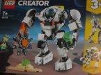 Lego Creator, 31115 Kosmiczny robot górniczy, klocki
