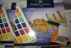Faber-Castell Flamaster, Farbki wodne, Pędzelek wodny, Flamaster pędzelkowy