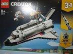 Lego Creator, 31117 Przygoda w promie kosmicznym, klocki Lego Creator, 31117 Przygoda w promie kosmicznym, klocki