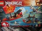 Lego Ninjago Legacy, 71749 Ostatni lot Perły Przeznaczenia, klocki